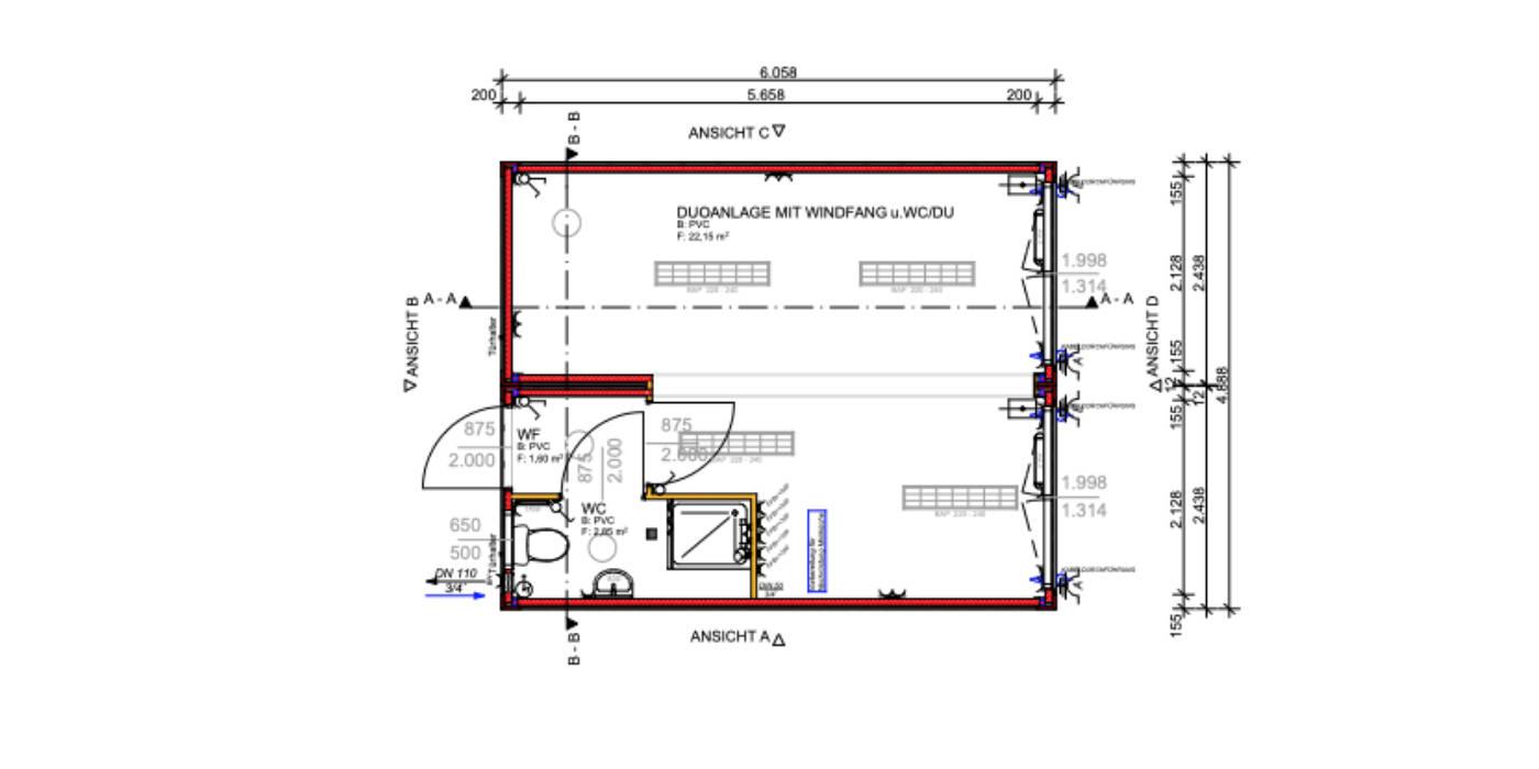 bürocontainer preise - wohncontainer mit küche und bad