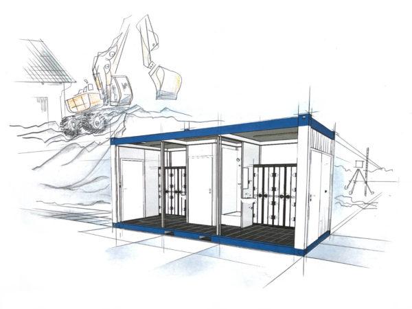 wohncontainer kaufen - Sanitärcontainer - container mieten preise - container 6m
