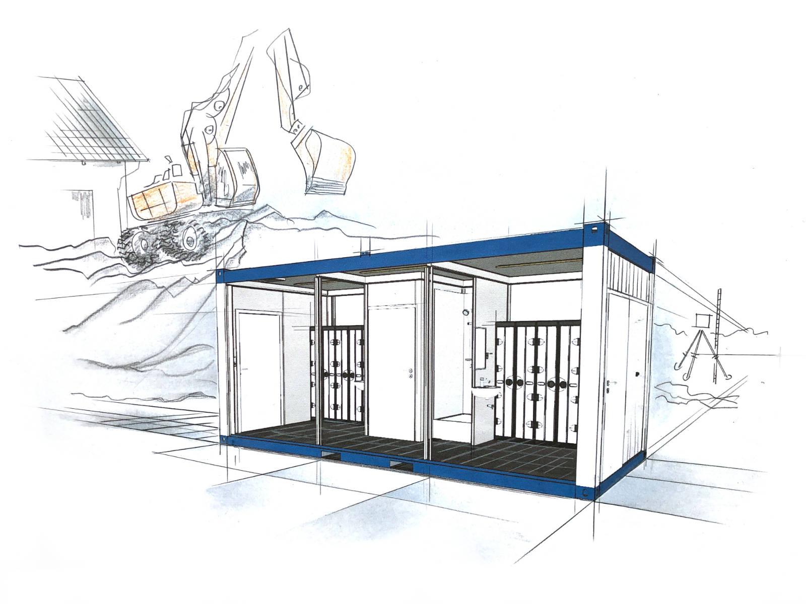 wohncontainer kaufen - Sanitärcontainer - container mieten preise