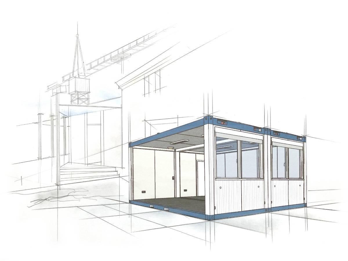 wohncontainer kaufen - Containeranlage - wohncontainer container - bürocontainer mieten