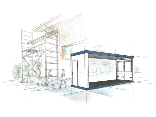 bürocontainer mieten kosten pro tag - Container Anlagen - Wohncontainer