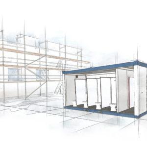 baustellencontainer - Überseecontainer kaufen