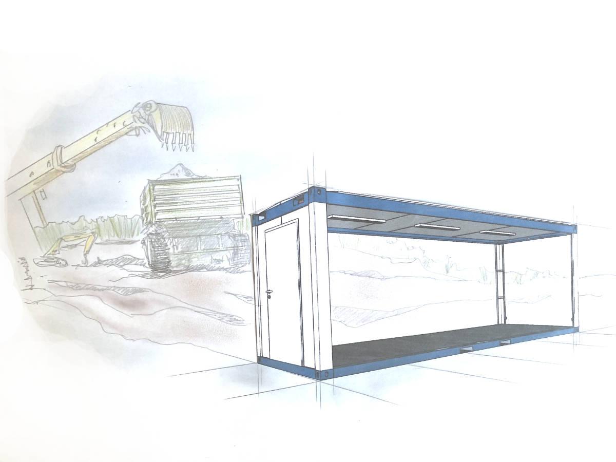 wohncontainer kaufen - Gebrauchte Containeranlagen